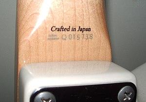 fender serial number japan jd