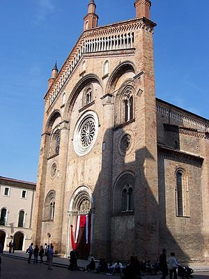 Call Me by Your Name (film) - Filming at the Crema Cathedral was postponed due to bad weather.