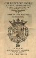 Cristóbal de Vega (1564) Liber de arte Medendi.png