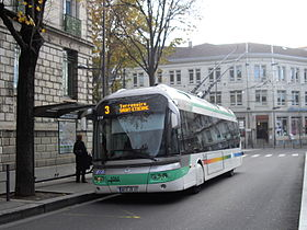 Image illustrative de l'article Trolleybus de Saint-Étienne