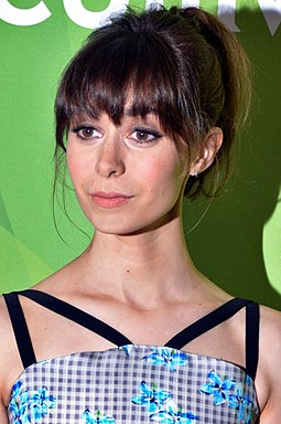 "Cristin Milioti stars in the episode as Nanette Cole, ""a woman in charge [fighting] against a small-minded, misogynist bully"". Cristin Milioti July 13, 2014 (cropped).jpg"