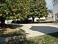 Crkva Sosetvije Svetoga Duha u Vlasotincu, dvoriste.jpg