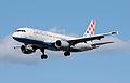 Croatia Airlines Airbus A320-200 (9A-CTJ) arrives London Heathrow 11Apr2015 arp.jpg