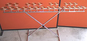 Crotales - Crotales, C6–C8 range (by maker Paiste).