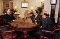Crown Prince Shaikh Salman bin Hamad Al-Khalifa of Bahrain meets William Cohen, 2000.jpg