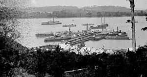 Belle Plains, Virginia - Belle Plains landing during the American Civil War