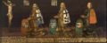 Crucifixion and the first three land commanders of the Bailiwick of Utrecht.png