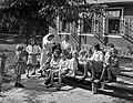 Csoportkép, 1943 Farkasgyepű. Fortepan 72369.jpg
