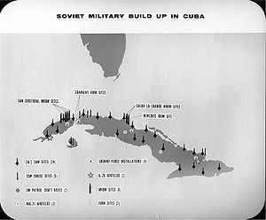 English: Soviet Military Build Up In Cuba, lat...