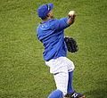Curtis Granderson works out before -WorldSeries Game 5 (22149748113).jpg