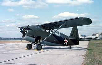 Curtiss O-52 Owl - The O-52 at National Museum of the United States Air Force