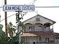 Custeau Street Sign with Weathered Facade - Santa Rosalia - Baja California Sur - Mexico (23705665409) (2).jpg