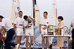 Dériveurs 18 pieds australiens au Salon Nautique International à Flot de La Rochelle 1987 (28).jpg