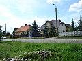 Dębniki-domy przy drodze w kierunku Zbójnej - panoramio.jpg