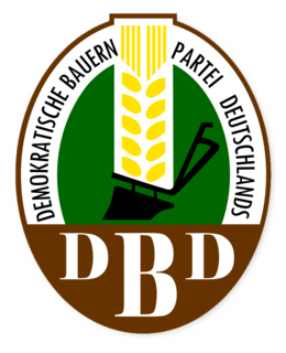 Democratic Farmers Party of Germany East German political party