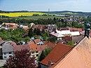 Dačice, výhled z věže, východ (02).jpg