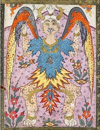 Beast of the Earth - depiction of Dabba from 16th century Persian art