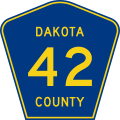 Dakota County Route 42.svg