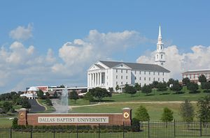 Dallas Baptist University - A view of the University