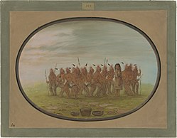 George Catlin: Dance to the Berdache - Saukie