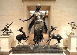 Dancer and Gazelles by Paul Manship, 1916, bronze - National Gallery of Art, Washington - DSC09772.JPG