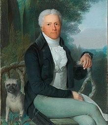 Porträt von Karl August Fürst von Hardenberg, Gemälde von Daniel Caffé (Quelle: Wikimedia)