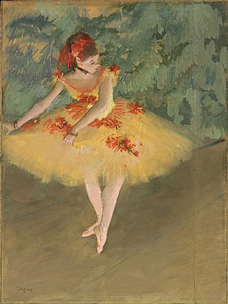 Huguette Clark - Danseuse Faisant des Pointes (1879–1880), a pastel drawing by Edgar Degas, was stolen from Clark's Fifth Avenue apartment