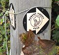 Darent Valley Path at Otford Kent UK sign.JPG