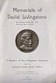 David Livingstone Centenary Medal, issued by the London Miss Wellcome V0018865ER.jpg