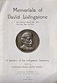 David Livingstone Centenary Medal, issued by the London Miss Wellcome V0018865ER.jpg