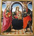 David ghirlandaio, sacra convesrazione, 1490-1500 ca..JPG