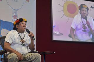 Davi Kopenawa Yanomami Brazilian shaman