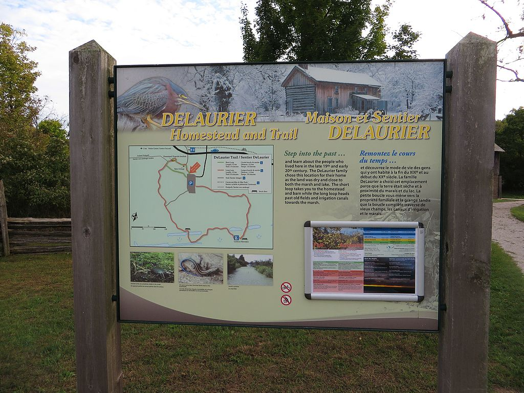 File:DeLaurier Homestead and Trail, Point Pelee National Park ...