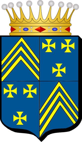 Guy de Charnacé - Arms of the Girard family, counts of Charnacé