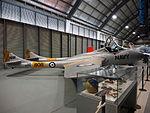 De Havilland Sea Vampire at the Fleet Air Arm Museum February 2015.jpg