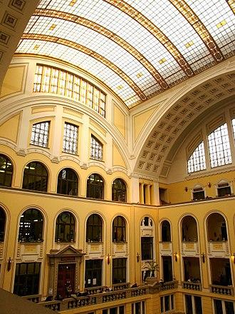 University of Debrecen - Inner yard of the main university building (Díszudvar)