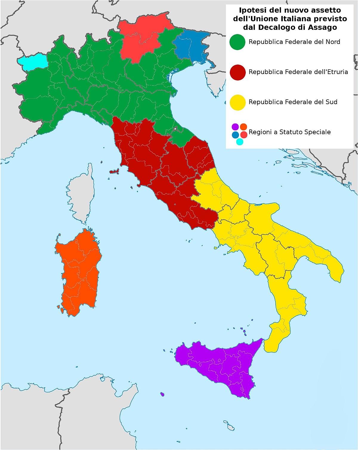 Decalogo di assago wikipedia for Politica italiana wikipedia
