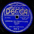 Decca 5035 B - AnswerToTwenty-OneYears.jpg