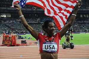 DeeDee Trotter - DeeDee Trotter at the 2012 Olympics