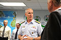 Defense.gov News Photo 110418-D-XH843-005 - Deputy Secretary of Defense William J. Lynn III meets with Joint Interagency Task Force South Command Rear Adm. Daniel Lloyd during a visit to the.jpg