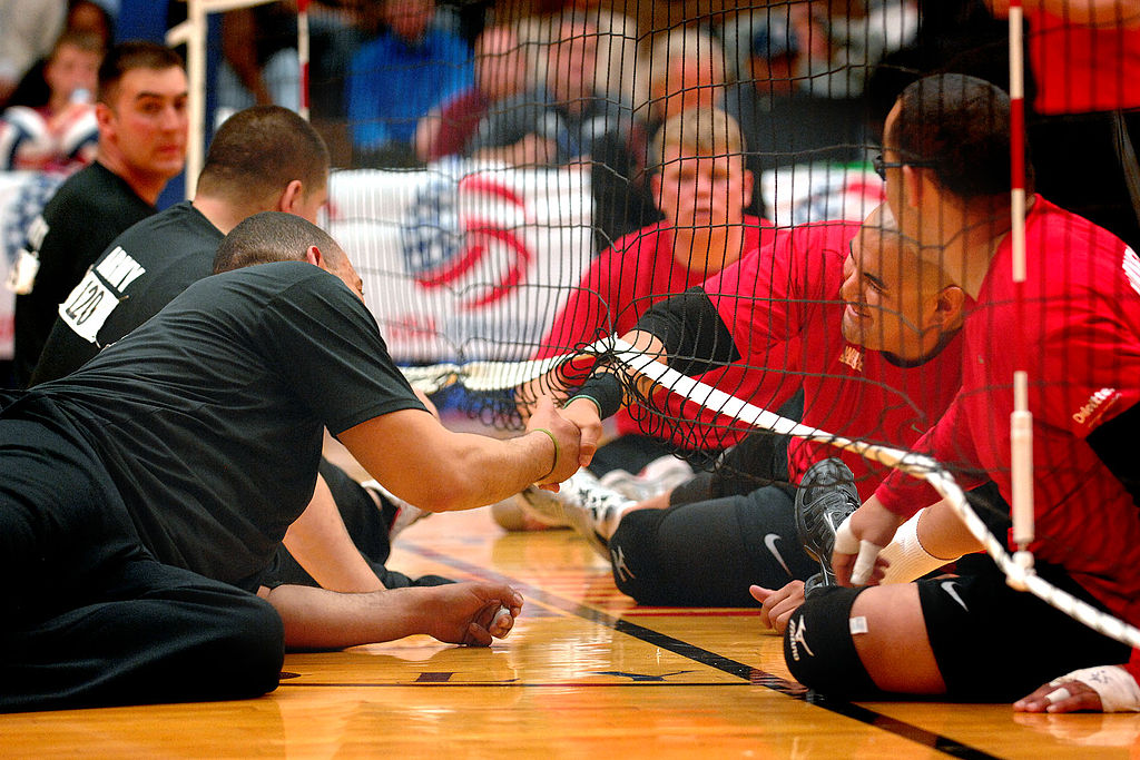 essay on volleyball match