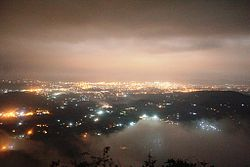 Dehradun - Night Lights - A View from Mussoorie.jpg