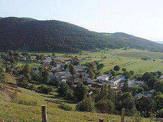 Koritnice Place in Inner Carniola, Slovenia