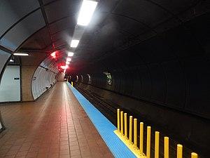 Delavan/Canisius College station - Delavan/Canisius College station's inbound platform