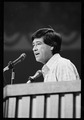 Democratic Convention in New York City, July 14, 1976. Cesar Chavez at podium, nominating Gov. Brown.tif