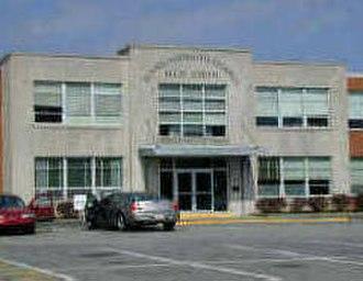 Dennis-Yarmouth Regional High School - Image: Dennis Yarmouth Regional High School 1996