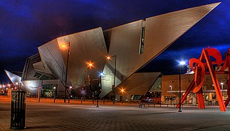 Denver Art Museum - Frederic C. Hamilton building at DAM