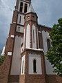 Der rechte Turm, Elisabethkirche, 2018 Pesterzsébet.jpg