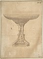 Design for a Cup Supported by Standing Nudes with Standard of Seated Figure with Book and Bird MET DP801948.jpg