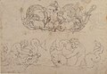 Designs for Ornamental Motifs with Figures, Real and Imaginary Animals, and Coats of Arms of the Medici Grand Dukes MET 49.116.8 RECTO.jpg